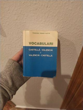 Diccionario Valenciano- Castellano y viceversa