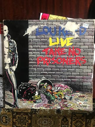 """Lou Reed """"Live , Take no prisioners"""""""