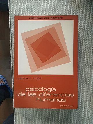 Psicóloga de la diferencias humanas