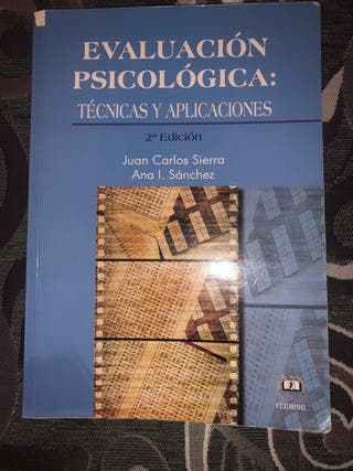 Evaluación psicológica: técnicas y aplicaciones