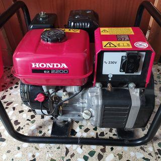 Generador Honda EZ 2200 gasolina.