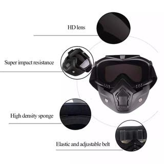 Máscara protectora airsoft, paintball