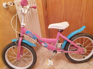 """bicicleta de soy luna """"16"""""""