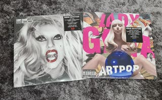 Lady Gaga Pack Vinilos