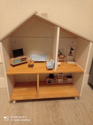 casita madera Ikea juguete