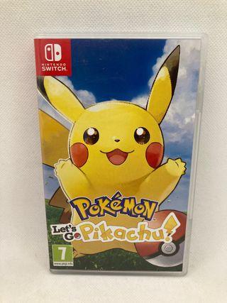 Pokemon let's go pikachu! Nintendo switch