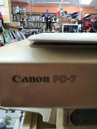fotocopiadora canon pc7
