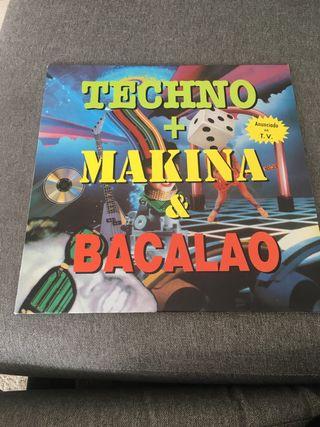 TECHNO + MAQUINA & BACALAO