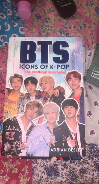 BTS albums and accessories