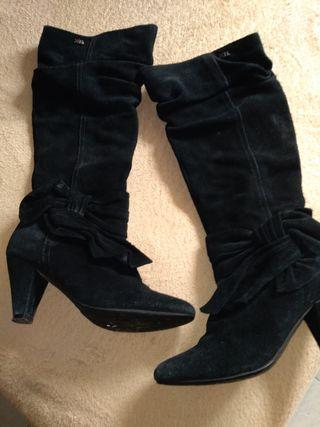 botas piel mujer