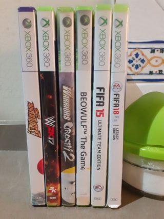 5 juegos de Xbox 360
