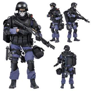 Figura de acción SWAT altísima calidad.