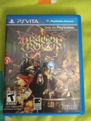 Dragon's Crown PS vita
