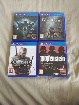 videojuegos de la PS4