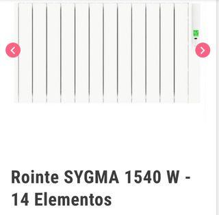 Radiador Rointe bajo consumo 14 elementos