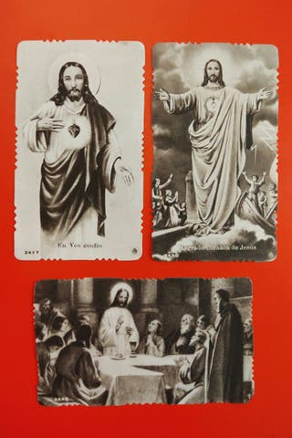 Estampitas de Misa de Jesús