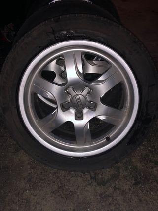 """Llantas aluminio Audi 17""""original"""