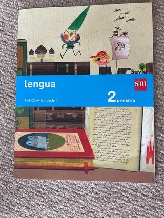 Libro Lengua 2 Primaria Tercer Trimestre Savia