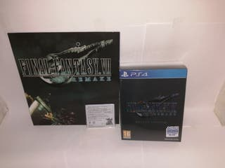 Final Fantasy Vii remake deluxe edition ps4