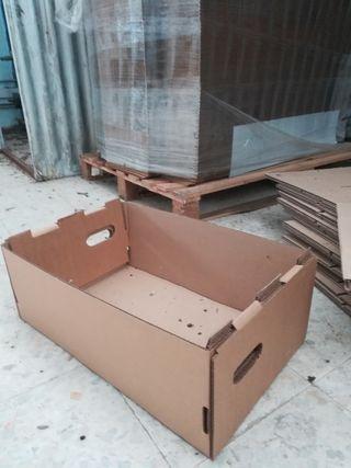 cajas de cartón sin tapa