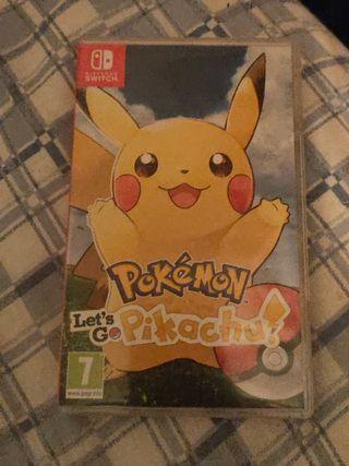 Pokémon let's Go Pikachu y pokeball plus