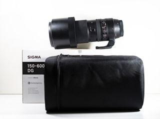 Sigma 150-600 f5-6.3 Contemporary montura Canon.