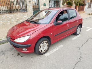 Peugeot 206 1.4i 75 cv gasolina año2000