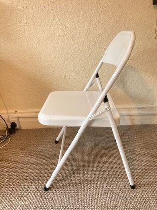 White chair