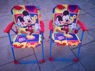 Sillas Mickey