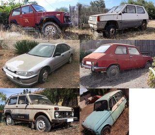 Grupo de coches