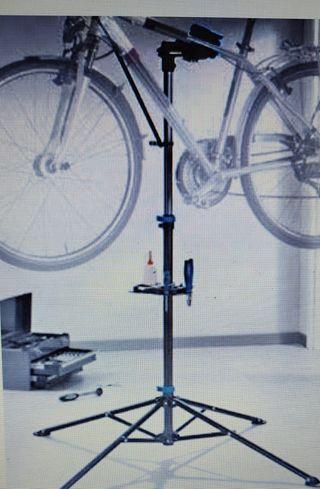 caballete reparación bicicletas