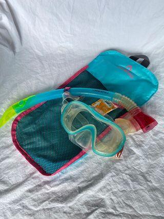Gafas Snorkel Buceo y tubo