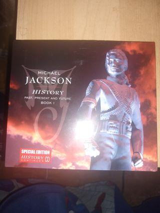 Michael Jackson history continues 1 CD