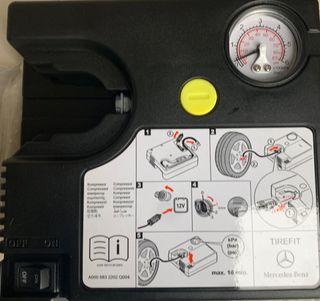 Compresor de aire portatil para ruedas