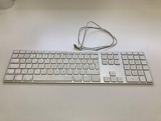 Teclado mac con números