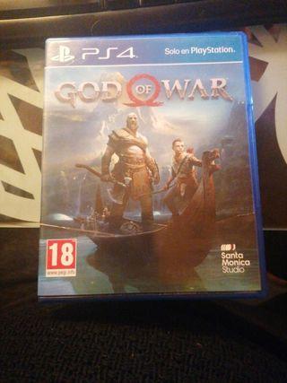god of war ps4 Como nuevo as new