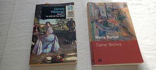 2 LIBROS POR 7€. LITERATURA CATALANA.
