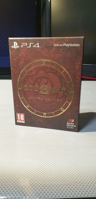 God of War Edición Limitada PS4
