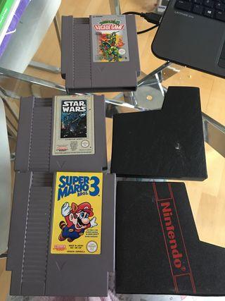 Juegos cartuchos Nintendo nes