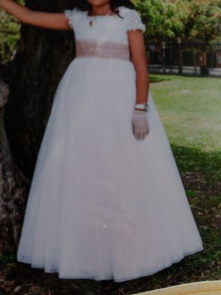 vestido de comunión niña.