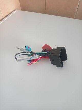 conector iso radio Opel