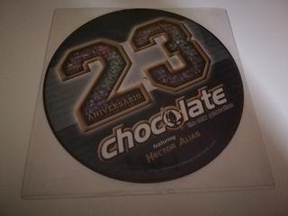 vinilo Chocolate vs Hector Alias 23 aniversario