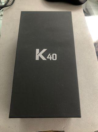Lg K40. Azul. Nuevo