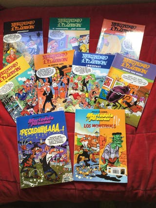 Lote 9 cómics Mortadelo y Filemón