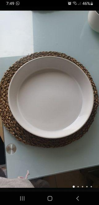 bandeja horno ceramica