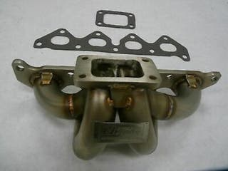 Colectores hyundai coupe turbo t3 38mm