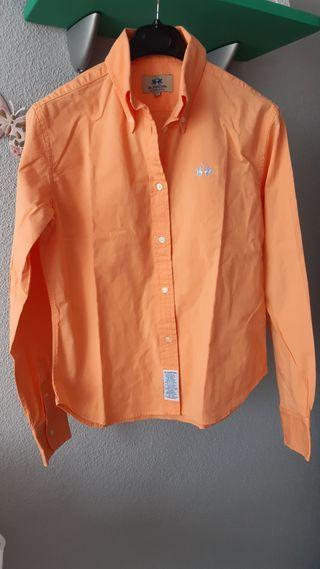camisa de chica La Martina