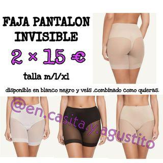 faja pantalon invisible efecto tanga