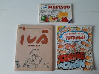 comics dibujante Ivá 3 x 6€
