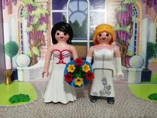 playmobil pareja novias mod 1